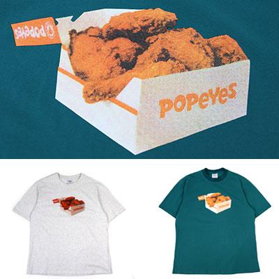 [UNISEX] POPEYESボックスプリントユニークtシャツ/半袖(2color)