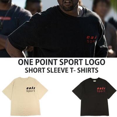 [UNISEX] KANYE WEST st.ワンポイントロゴショートスリーブtシャツ/半袖(2color)