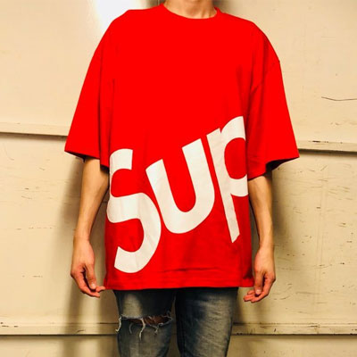 《only VIP》LINE SUP oversize Tshirts