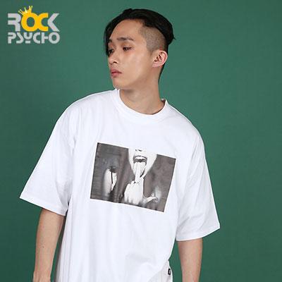 【ROCK PSYCHO】FUXXプリント半袖Tシャツ ( 2 COLORS )