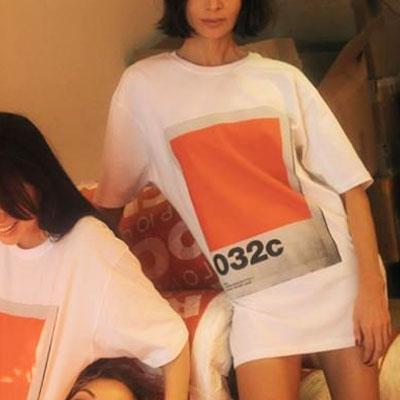 [UNISEX] イラストオーバーサイズショートスリーブTシャツ/半袖
