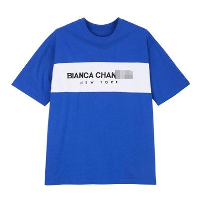 [UNISEX] ONEラインロゴポイントtシャツ/半袖(6color)