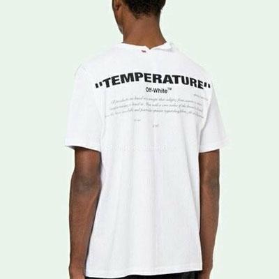 [UNISEX] WHITE ver. バックネックラインスリットショートスリーブTシャツ/半袖