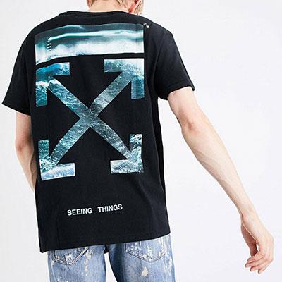 [UNISEX] SEA/WOMAN プリントショートスリーブTシャツ/半袖