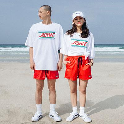 【2XADRENALINE】ベーシックスイムパンツ -RED