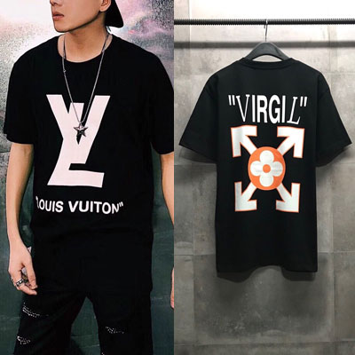 《only VIP》LINE LOUIS x OFF*** Tshirts