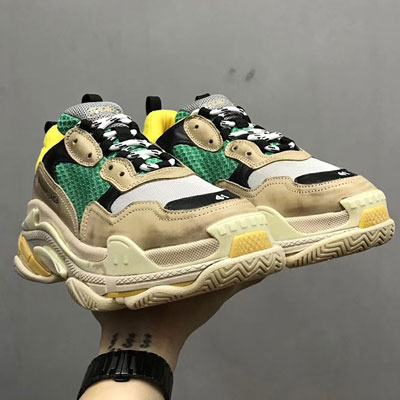 [upgrade ver.]《only VIP》LINE balenci***triple S yellow+green