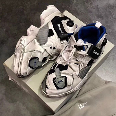 《only VIP》LINE Vetem*Reeb***genetically modified pump-White navy