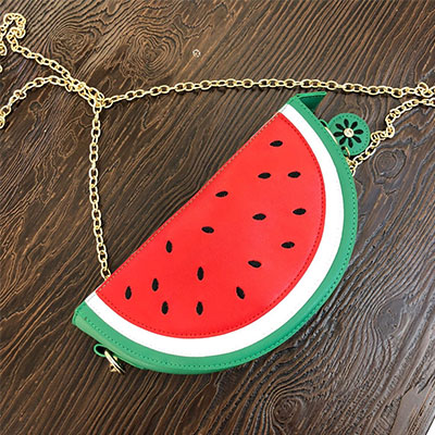 《only VIP》LINE watermelon clutch bag