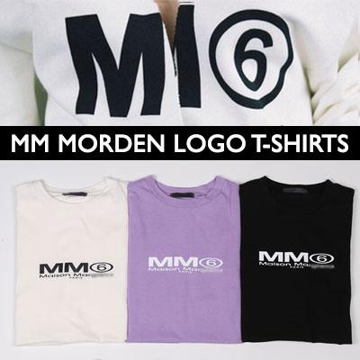 [UNISEX] MMモダンロゴtシャツ/半袖(3color)