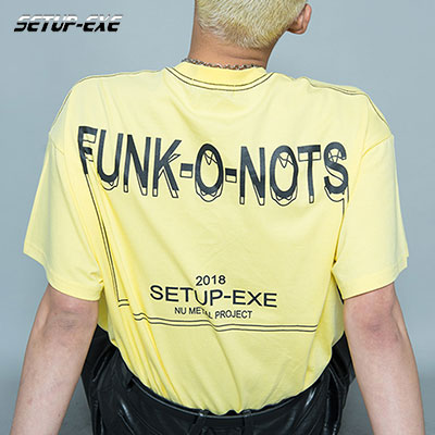 【SETUP-EXE】 FUNK T - SHIRT - LIGHT YELLOW