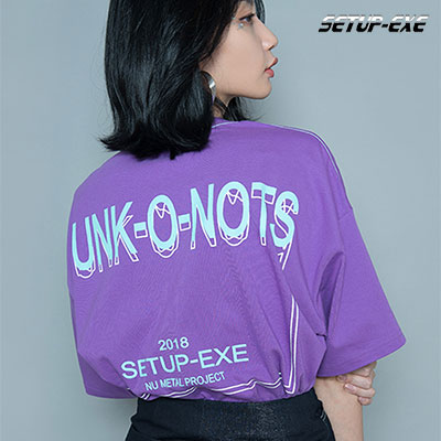 【SETUP-EXE】FUNK T - SHIRT - LIGHT PURPLE