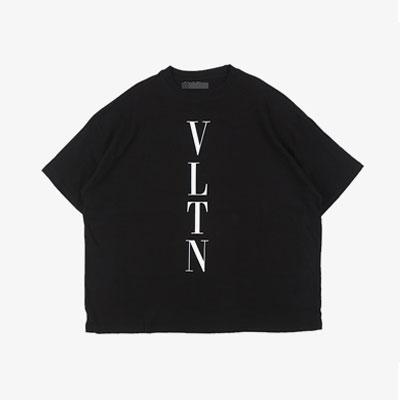 [UNISEX] タテロゴショートスリーブtシャツ/半袖(2color)