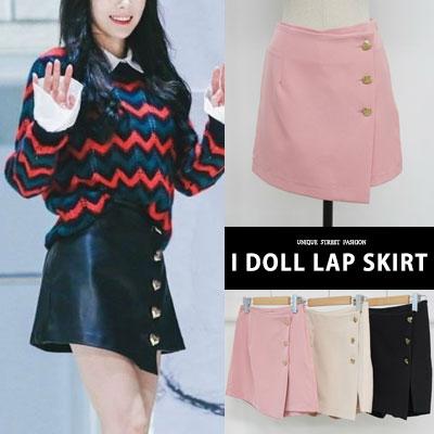 blackpink/SNSD st. I DOLL ラップスカート(3color 2size)