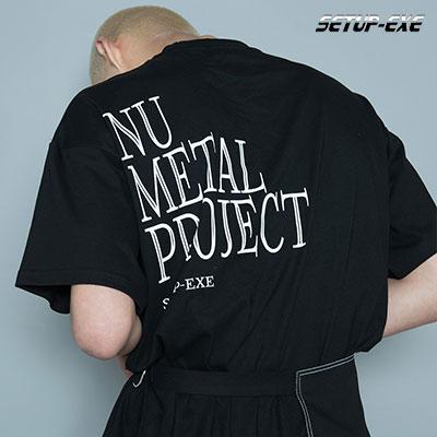【SETUP-EXE】DOUBLE POCKET T-SHIRT - BLACK