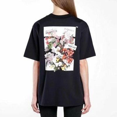 [UNISEX] BLOOMINGフラワープリントショートスリーブtシャツ/半袖(2color)