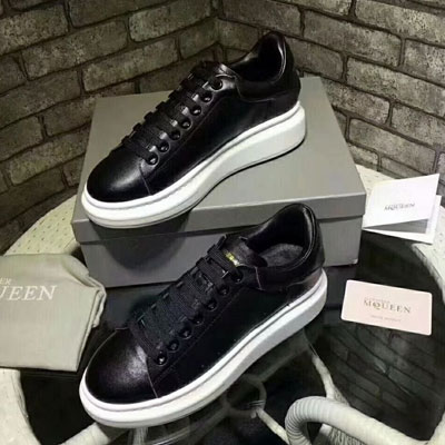 《only VIP》LINE A@EXANDER M@QUEEN Sneakers- BLACK & BLACK