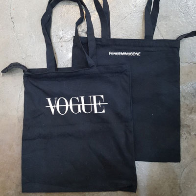 《only VIP》LINE peaceminus*** eco bag