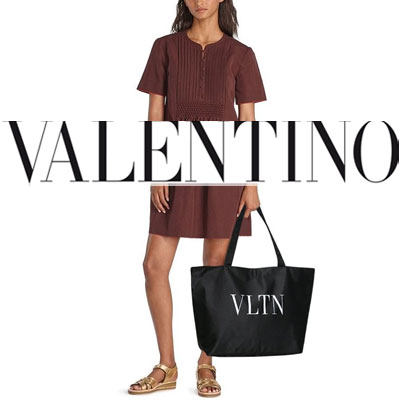 《only VIP》LINE valent*** shopper bag