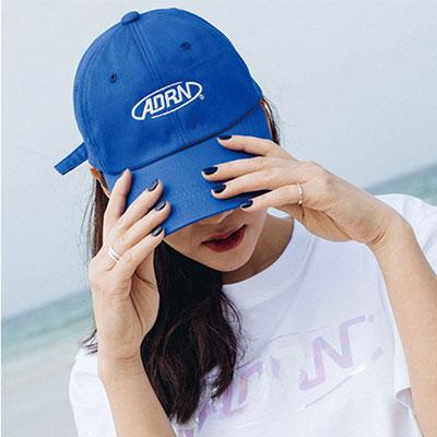 【2XADRENALINE】ADRN ロゴボールキャップ -BLUE