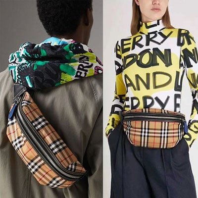 《only VIP》LINE burberry*** penny bag