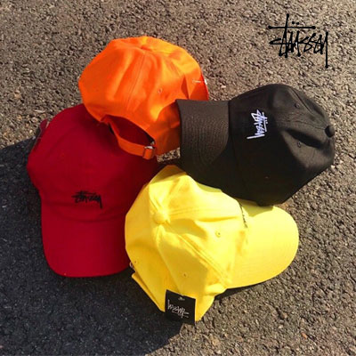 《only VIP》LINE St@ssy  embroidery color ball cap