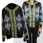 ★★SALE★★韓国流行私服★LeopardプリンティングのZip Upジャケット