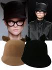 ブランドスタイル;ランウエーベレー帽