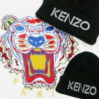 ★NUGABO製作商品★海外セレブ愛用ブランドKENZ*st.ロゴプリンティングニット帽
