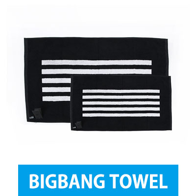 "BIGBANG 公式グッズ[TOWEL] BIGBANG 2015 WORLD TOUR ""MADE""(BIG SIZE,MINI SIZE)"