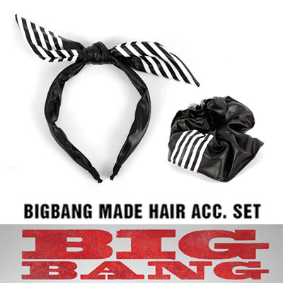 BIGBANG MADE 公式グッズ[HAIR BAND SET/ヘアバンドセット]WORLD TOUR MADE MD LIST[正規品]