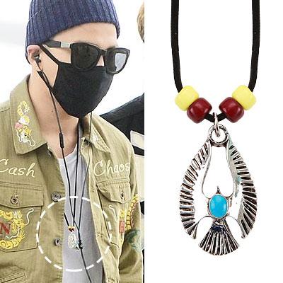 BIGBANG SOL [MADE]活動中のファッションスタイル!セラフィムネックレス SERAPHIM NECKLACE
