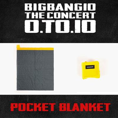 【公式グッズ】[BIGBANG MADE][10th]BIGBANG POCKET BLANKET/ポケットブランケット