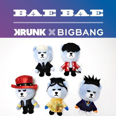 【公式グッズ】BIGBANG公式グッズKRUNK X BIGBANG BAEBAE VER.