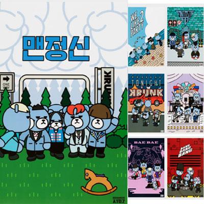 【公式グッズ】KRUNK X BIGBANG POSTER SET/KRUNK X ビックバンポスターセット全10種