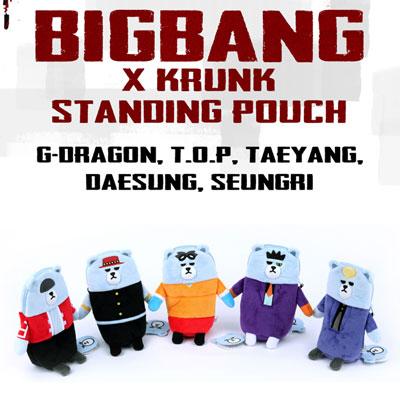 【公式グッズ】(正規品)BIGBANGXKRUNKスタンディングパウチ