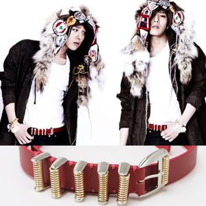 BIGBANG通販 BIGBANG,2ne1 sandara,INFINITEが愛用するスプリングベルト