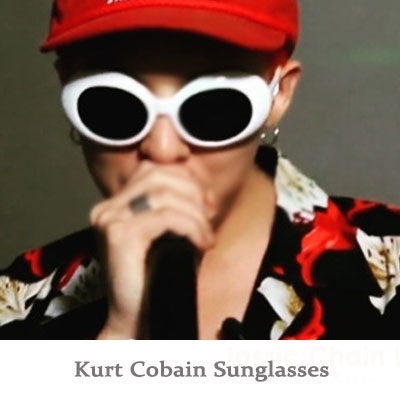 ★選べる2色★G-DRAGON愛用のサングラス!KURT COBAIN SUNGLASSES(WHITE,BLACK)