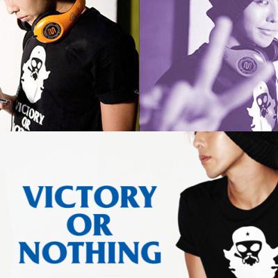 ★当日発送★ 企画商品★G-ドラゴンが写真集で着用したVICTORY OR NOTHING T-シャツ