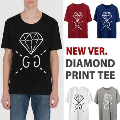 k-pop idol NCT st.ダイヤモンドプリントショートスリーブTシャツ/半袖 new ver. 5color