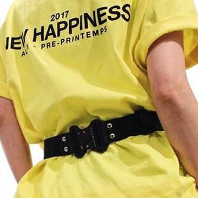 ★45%OFF SALE★最後の入荷分★NEW HAPPINESSメッセージショートTシャツ/半袖