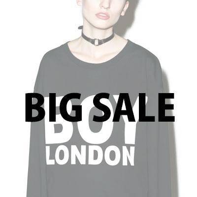 人気ストリートファッションBoy London風のトレーナ1枚と半袖1枚を3500円でゲットしよう!!!(Gold Type)