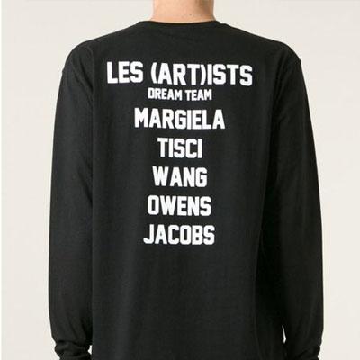 ★SALE★ストリートファッション通販|LES (ART)IS** st.のポックスロゴレタリング長袖 T-シャツ(2color)