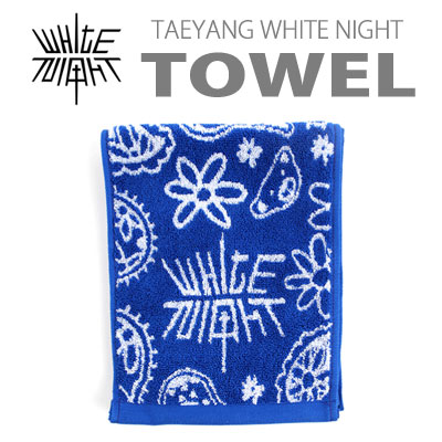 【公式グッズ】TAEYANG WHITE NIGHT TOWEL(small size)