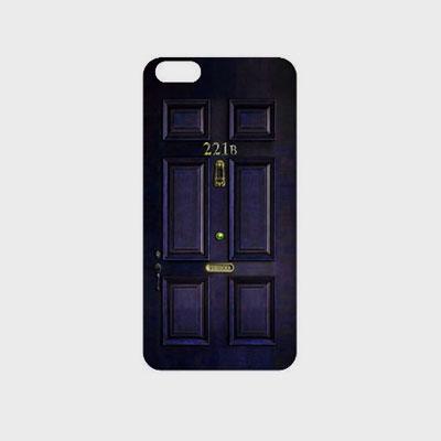 シャーロック221Bドア スマホケース・スマホカバー(iPhone,galaxy)