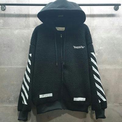 《only VIP》LINE Off hoodie zipup