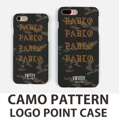 カモパターンロゴポイント iPhone スマホカバー/スマホケース