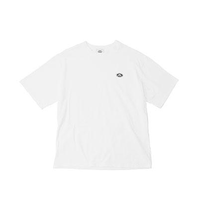 【2XADRENALINE】ベーシックロゴ半袖Tシャツ -WHITE