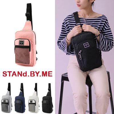 【STANd.BY.ME】MESH SLING BAG/スリングバッグ (5color)