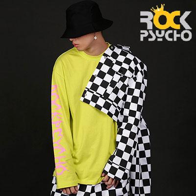 【ROCK PSYCHO】チェッカーボードクロップトップジャケット